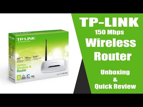 TP Link Wireless N Router (TL-WR740N) 150 Mbps Unboxing and  Review (Hindi)