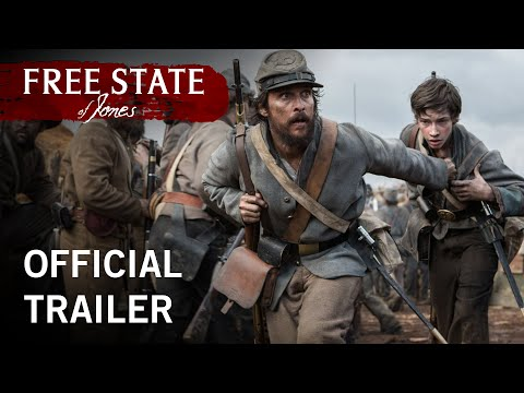 Watch Matthew McConaughey in First Free State of Jones