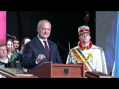Președintele Republicii Moldova a participat la adunarea solemnă cu prilejul marcării a 25 ani de la crearea UTA Găgăuzia