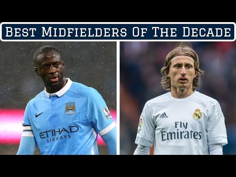 7 Greatest Midfielders of the Decade