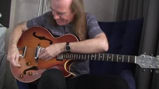 master David Becker using props, a looper pedal, tapping, and his Heritage Guitars custom model to create magic!http://davidbeckertribune.com/index.htmlhttp://heritageguitar.com/guitar/david-becker/