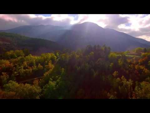 Mountainous Achaia: Mountain village hopping. (видео)