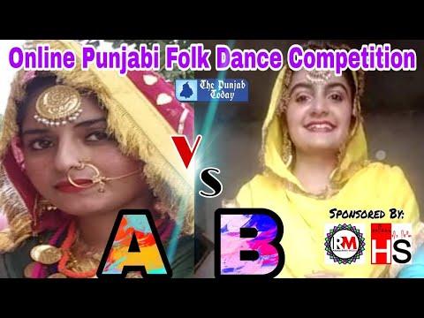 Final Round | Battel 2 | (A) Amandeep Kaur (Bathinda) v/s (B) Lakhbeer Kaur (Sirsa) | Folk Dance |
