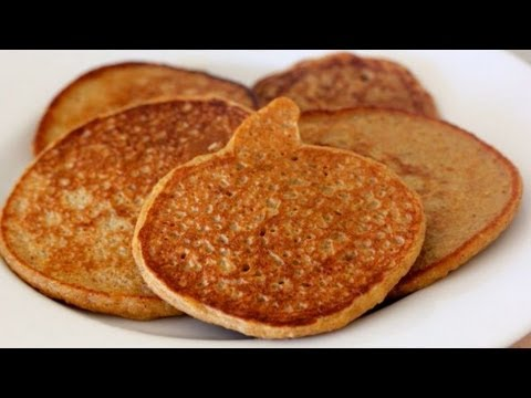 High Protein Pumpkin Pancakes – Clean & Delicious®