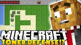 THE BEST TOWER DEFENSE GAME IN MINECRAFT - TOWER HOUR