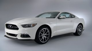 2015 Mustang GT 50th Anniversary Edition - DESIGN
