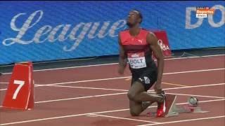 7. Usain Bolt  19,89 gana los 200 metros en Londres  2016