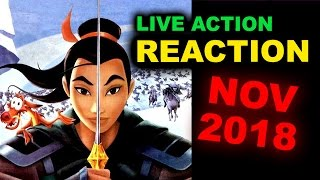 Mulan Live Action by Disney 2018 REACTION by Beyond The Trailer