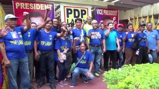 PDP-Laban affirms solid support for Duterte-Cayetano