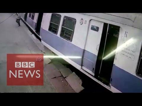 Treno non si ferma al capolinea a Mumbai