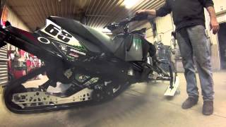 9. MBRP Can on a 2013 f800