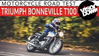 5. Triumph Bonneville T100 Review Motorcycle Road Test