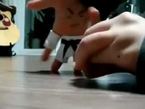 Mãos Ninja Vídeo Interessante