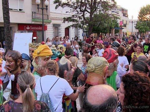 """""""Noche de Luz"""" celebrada en Isla Cristina en apoyo a los comercios locales"""