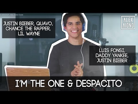 Despacito and I'm the One by Justin Bieber, Luis Fonsi, Chance the Rapper + more | Alex Aiono Mashup (видео)
