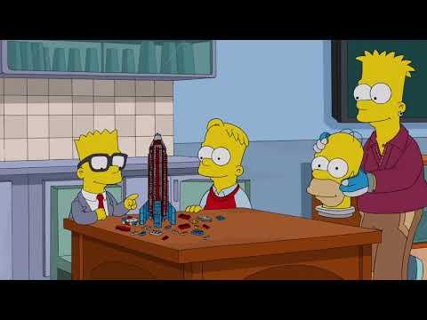 DIAS DE UM FUTURO FUTURO (04/05) - Os Simpsons DUBLADO - s25e18