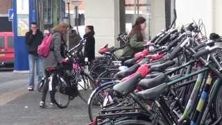 Te weinig fietsenstallingen bij Centraal Station Leeuwarden