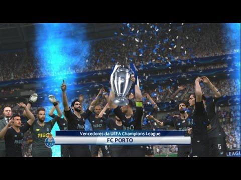 PES 2017| UCL Final  FC Barcelona Vs FC Porto