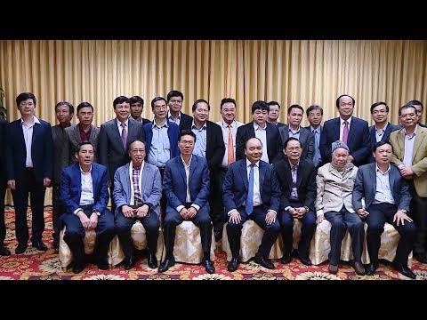 Thủ tướng Nguyễn Xuân Phúc gặp mặt lãnh đạo báo chí Việt Nam