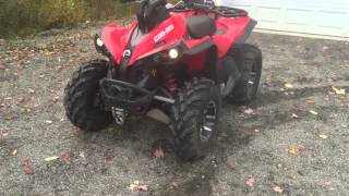 9. 2009 Can Am Renegade start and idle For Sale!