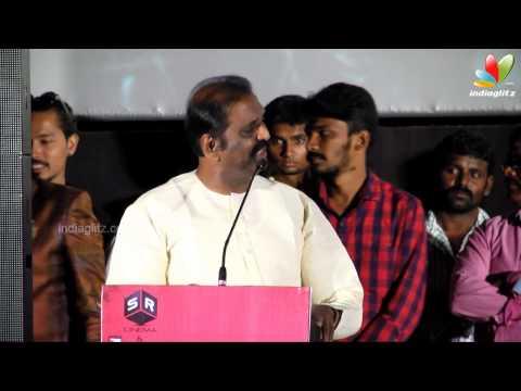 Vairamuthu  and  K. Bhagyaraj at Sathuranga Vettai Tamil Movie Audio Launch   Manobala