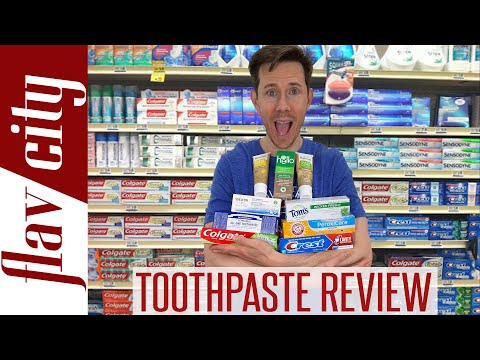 Do You Know What's In Your Toothpaste - The BEST(And Worst) Toothpaste To Buy!