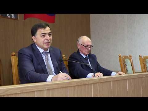 В Магарамкентском районе обсудили работу аппарата АТК района. 2019 г.