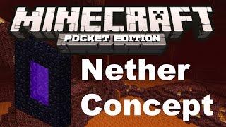 Minecraft PE - [0.9.0] - Nether Concept