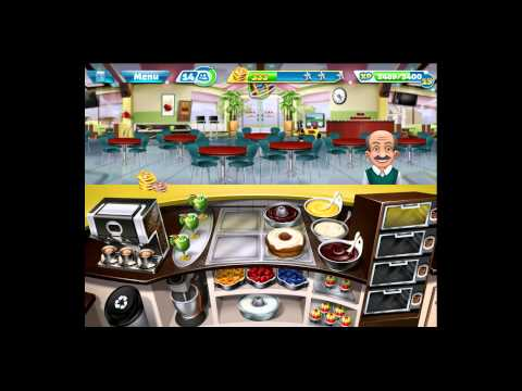 Cooking Fever [iPad Gameplay] Bakery Level 33