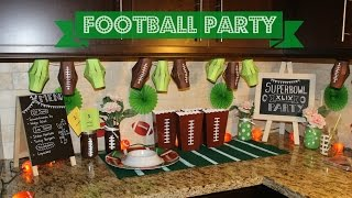 Check out my Superbowl XLIX party decorations!  A couple of DIYs included too :) What are you doing for Superbowl Sunday?  Leave me a comment!  My Instagram: instagram.com/simply_preetThanks for watching :) xoxo