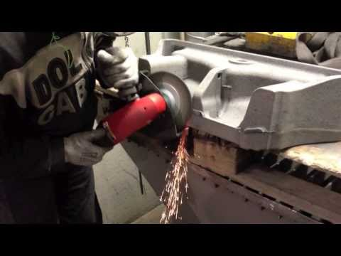 See our industrial grinders and chipper at work. Metalworkin
