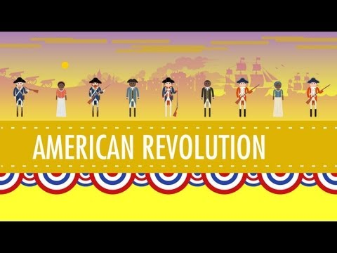 american - In which John Green teaches you about the American Revolution. And the Revolutionary War. I know we've labored the point here, but they weren't the same thin...