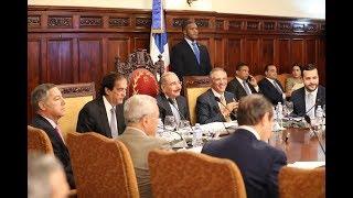 Presidente Danilo Medina encabeza la sexta sesión del pleno del Consejo Nacional de Competitividad