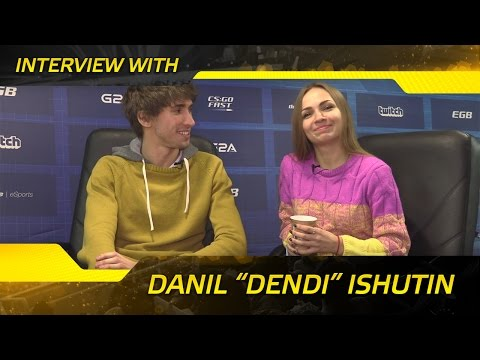 Interview with Dendi @ SL i-League LAN