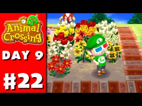 nintendo - Thanks for every Like and Favorite! They really help! This is Part 22 of the Animal Crossing: New Leaf Gameplay Walkthrough for the Nintendo 3DS! On Day 9, I...