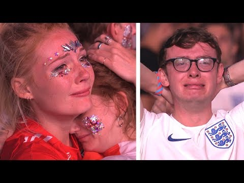 Tears In Hyde Park As England Are Knocked Out - Interviews - Russia 2018 World Cup