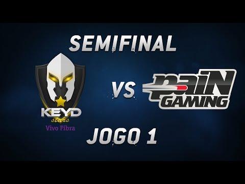 Semifinais CBLoL - Keyd x paiN (Jogo 1)