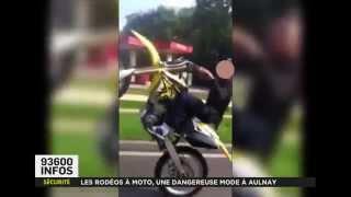 Aulnay-sous-Bois France  city photo : Les rodéos à moto, une dangereuse mode à Aulnay-sous-Bois