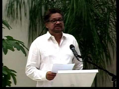 Discurso de Iván Márquez, vocero de las FARC-EP, durante la firma del Acuerdo Final