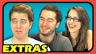 YouTubers React to Don't Hug Me I'm Scared 2 - TIME (EXTRAS #48)