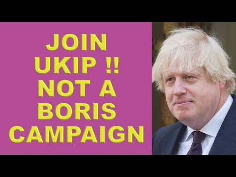 Boris Johnson joins 'Stand up 4 Brexit'!