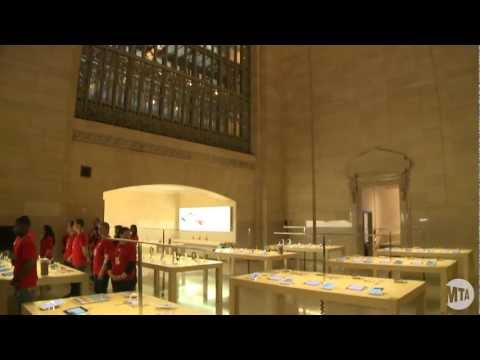 Apple store - Apple Store is Grand Central Terminal's newest merchant. Take a look inside this spectacular store with Jeffrey Rosen, director of MTA Real Estate.