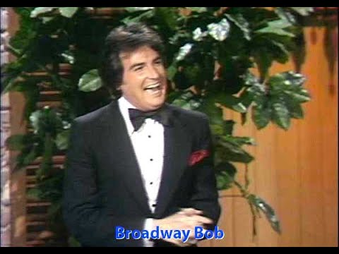 """""""THE MERV GRIFFIN SHOW"""" – as Broadway Bob (stand-up comedy) – Robert Hanley"""