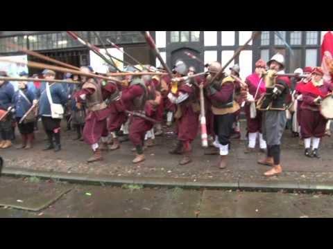Video. La batalla de Nantwich 1644. Una representación moderna