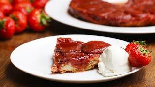 French-Style Strawberry Tart (Tarte Tatin) by Tasty
