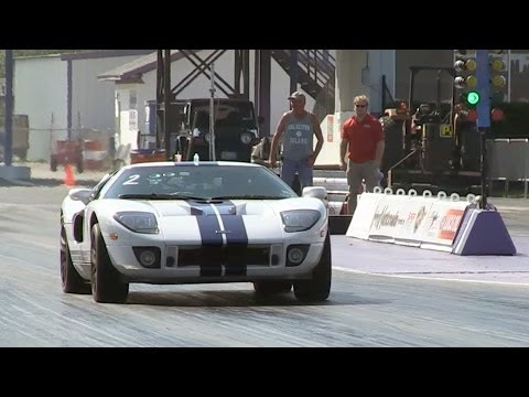 twin turbo - Mullet powered Ford GT - Quickest 1/4 mile - 9.39 @ 151mph This car has a supercharger, 2 turbos and a little shot of nitrous! http://texasspeedsyndicate.com...
