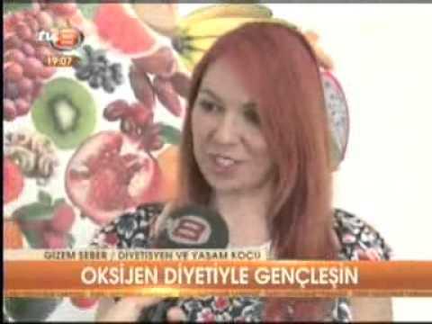 Diyetisyen ve Yaşam Koçu Gizem ŞEBER, TV8 Ana haber bülteninde Oksijen Diyeti'ni anlattı...