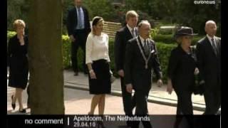 Apeldoorn Netherlands  city pictures gallery : Commemoration ceremony in Apeldoorn, Netherlands