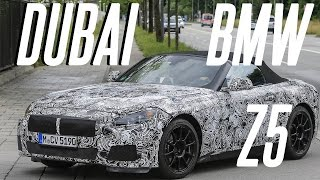 """Is this the new 2018 - 2019 BMW Z5 spotted in Dubai?✩ Twitter - http://www.twitter.com/emkwan✩ Instagram - http://www.instagram.com/emkwan✩ Snapchat - EMKWAN✩ FaceBook - http://www.facebook.com/emkwan.page✩ Blog/Website - http://emkwan.comFor vlogs subscribe to: http://emkwan.com/vlogs__Shot on a Canon G7X, Sometimes a Canon Legria Mini X or Go Pro Hero 4 Session__FAQs:- How old are you? - 33- Where do you live? - Abu Dhabi, UAE- What Phone(s) do you use? - iPhone 7 Plus- What is your job? - Lecturer and Working with brands on social media- What editing program do you use? - iMovie, FCPX and Motion- How long do your vlogs take to edit? - They vary from 15mins - 3 hours +- Where are you originally from? - Born and raised in the UK, Leicester- Can you get me a job in Dubai? - no sorry, I'm not in recruitmentStill got questions? Submit your questions here #AskEMKWANhttp://emkwan.com/ask__Peace and BlessingsEMKWAN REVIEWS is a weekly channel set up by EMKWAN for unboxing, reviews on technology, luxury watches and lifestyle.EMKWAN is an award winning YouTuber, Digital and Social Media Influencer who is regarded as """"One of the UAE's leading video bloggers."""" (Esquire Magazine). Originally from the UK now based in Abu Dhabi. In 2015, EMKWAN was handed the Esquire Magazine's Digital Influencer award and selected as one of AHLAN!'s Hot 100 Influencers of the Middle East."""