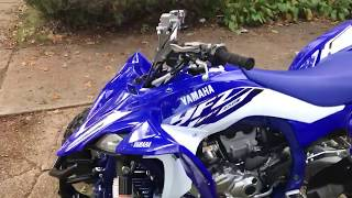 10. 2018 Yamaha YFZ450R Walk-Around